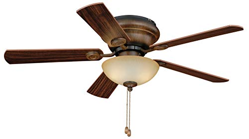 Vaxcel F0024 Expo Flush mount Ceiling Fan, 42