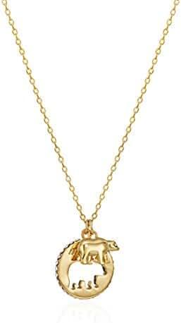 kate spade new york Mama Bear Pendant Necklace