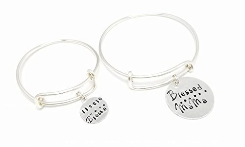 Kids Charm Bangle, Expandable Baby Stainless Steel Jewelry, Personalized Bracelet Customized Hand Stamped Bracelet, Personalized Gift, Your Own Saying Kids Jewelry Gold Silver Alex and Ani Inspired