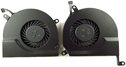 ShineBear ShineBear A1286 1286 Left and Right CPU Cooling Fan for Apple MacBook Pro 15 2008 2009 2010 2011 2012 Year Cable Length: A1286