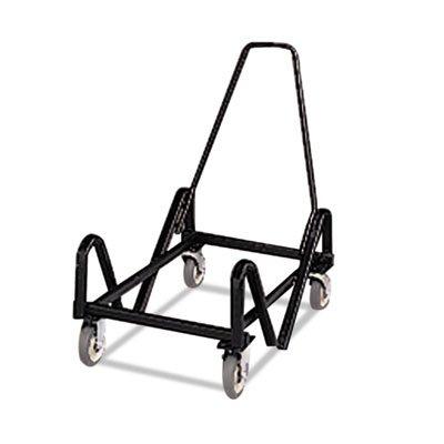 Hon 4043T Olson Stacker Series Cart, 21-3/8 x 35-1/2 x 37, Black - Olson Stacker Series Chair Cart