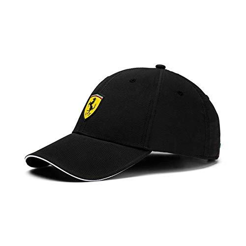 Puma - Scuderia Ferrari Fanwear Baseball Cap, Puma Black One Size