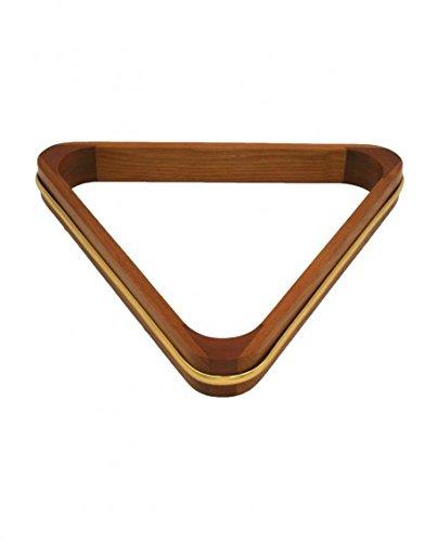 Triángulo de billar madera y Dorure–50.8mm, madera CAAA