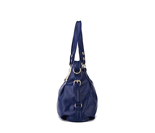 Gwqgz Es Elegante Blue Y Simple Lady'S Azul La Nueva Bolso aSwqarv