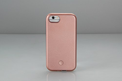 iPhone 6 Case, COSLIGHT LED Light Up Selfie Phone Case Luminous Protective Cover for Apple iPhone 6 6s (4.7'') - Rose Gold by Coslight (Image #3)