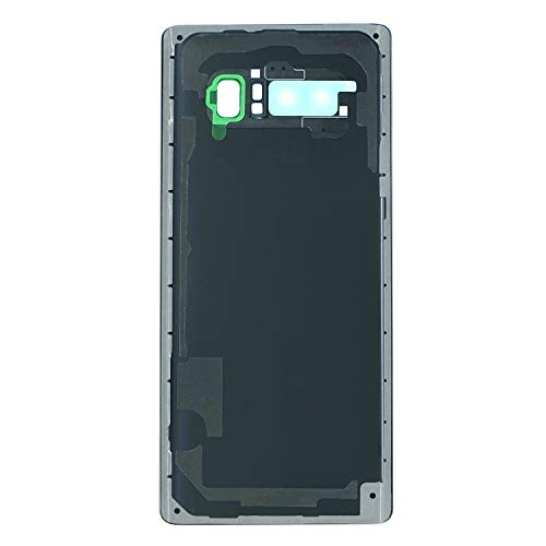 Dadawireless Replacement Back Glass Door Cover Housing Pre-Installed Camera Lens Frame Adhesive Tape for Samsung Galaxy Note 8 N950(All Carrier) (Blue)