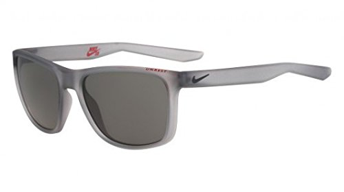 Nike Golf Unrest Sunglasses, Matte Wolf Grey/Deep Pewter Frame, Grey - Nike Men Glasses