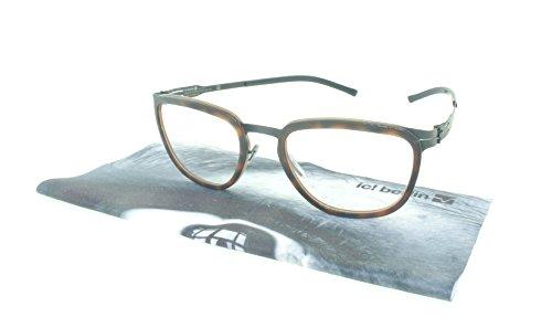 ic! berlin Eyeglasses Kathi B. Rectangular / Rx Lenses (Black / Tortoise Shell, Rx - Eyeglasses Tortoise Womens Shell