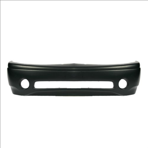 CarPartsDepot 352-191470-10-PM FRONT BUMPER PRIMED BLACK COVER W/FOG HOLE GM1000637