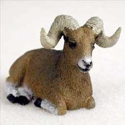 Conversation Concepts Miniature Big Horn Sheep Tiny One Figurine (Set of 3)