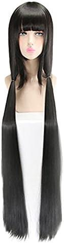 ニューダンガンロンパV3 春川魔姫 ハルカワマキ 風 コスプレウィッグ cosplay wig かつら イベント 仮装用 ヘアピ