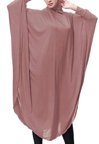 Long Women Islamic 2 Hijab Ramadan Muslim Dress Batwing Jaycargogo Sleeve 0z1qxd