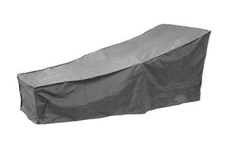 Mitef Waterproof Patio Chaise Lounge Covers-Durable Outdoor Chaise Lounge Covers,82'' L x 30'' W x 31'' H/16 H, Gray by Mitef