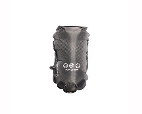 Pacific Outdoor Equipment Pneumo LTW 5 Liter Sack (Black, 10 x 20- Inch), Outdoor Stuffs