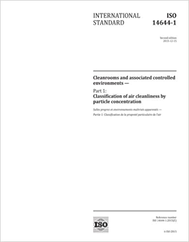 Amazon iso 14644 12015 second edition cleanrooms and iso 14644 12015 second edition cleanrooms and associated controlled environments part 1 classification of air cleanliness by particle concentration fandeluxe Gallery