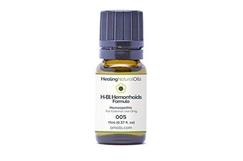 (Hemorrhoids Treatment: H-Bleeding Hemorrhoids Relief for Internal, External, Thrombose Bleeding Hemorrhoids 11ml)