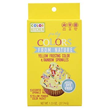 Colorkitchen Yellow Sprinkle Set 1.33 OZ (Pack of 12)
