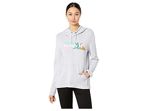 Hurley Women's Cruise Fleece Pullover Wolf Grey X-Small