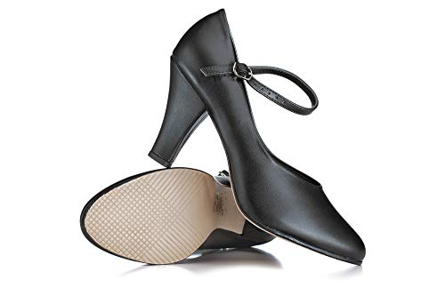 """Theatricals Pro Adult Star Struck 3"""" Character Shoes THP330BLK08.0M Black 8 M US"""