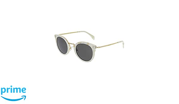 680341a0351 Celine 41373  S 023F White Gold   NR brown gray lens Sunglasses at Amazon  Men s Clothing store