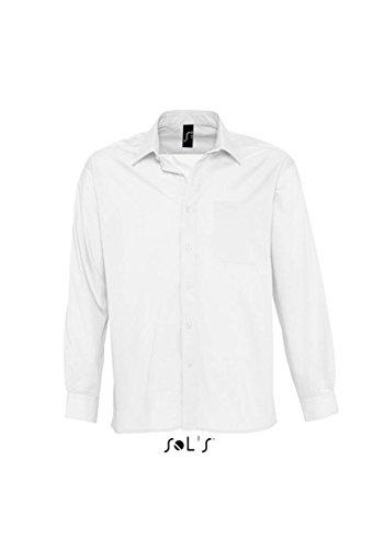 SOLs Baltimore Langarmhemd XXL,White