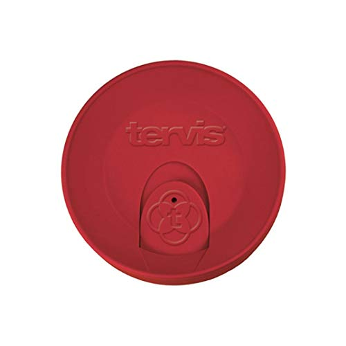 Tervis Red Travel Lid For Tervis 16 Ounce Tumbler ()