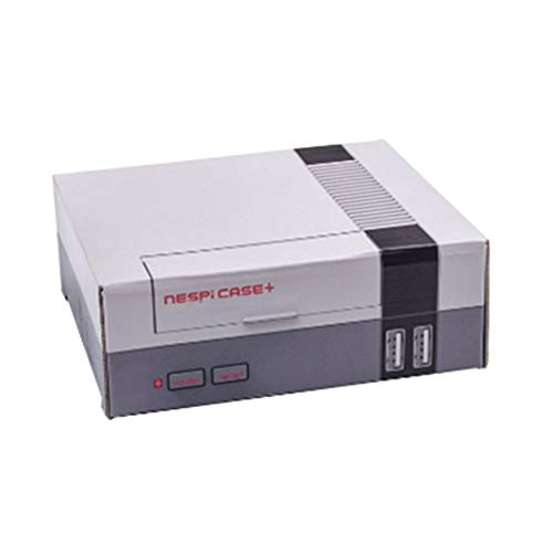 1set Upgrade Pi Retroflag NESPI Case Plus Safe Shutdown Functional Power Button Kit for Raspberry Pi 3 B //3//2B
