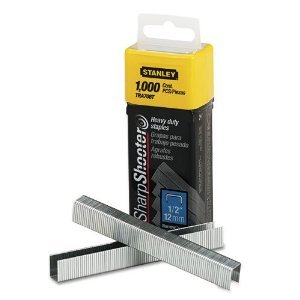 Steel 1000 Count STANLEY TRA708T Sharpshooter 1//2-Inch Leg Length Staples