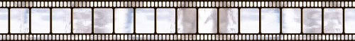 Hollywood Metallic Film Border Roll, 18