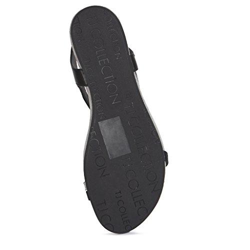 Footbed Women's Sandals Tj Gold Leather Collection WBYWxnC