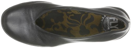 eleganti Yaz P500025063 Scarpe London Nero Schwarz Fly Schwarz donna 5CRqI7FnF