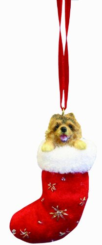 Chow Christmas Stocking Ornament with