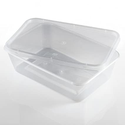 Thali Outlet® - 100 x rectangular 1000 ml microondas ...
