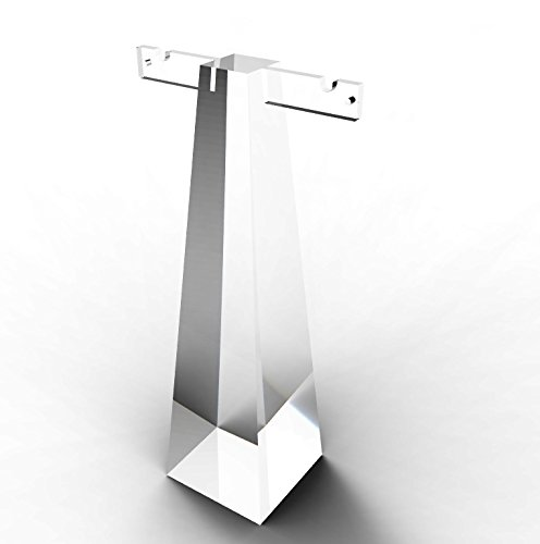 FixtureDisplays Clear Acrylic Plexiglass Necklace Earring Jewelry Stand Display 11620-17 11620-17