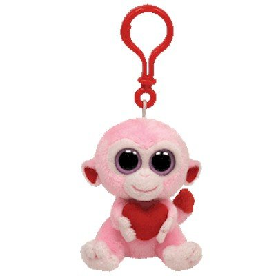 (Ty Beanie Boos - Julep-Clip the Monkey)