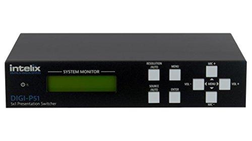 Intelix Presentation Switcher/Scaler - 5 Input x 1 Output DIGI-P51