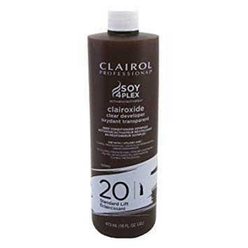 Volume Lift Standard 20 - Clairol Clairoxide 20 Volume 16 Ounce Standard Lift Clear (473ml) (3 Pack)