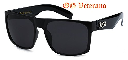 Classic Old School Super Dark Lens Locs - Locs Womens Sunglasses
