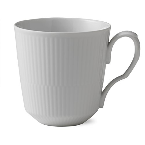 - White Fluted 15.5 oz. Mug