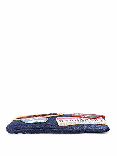Dsquared2 Pochette Donna BY507912463085 Cotone Blu