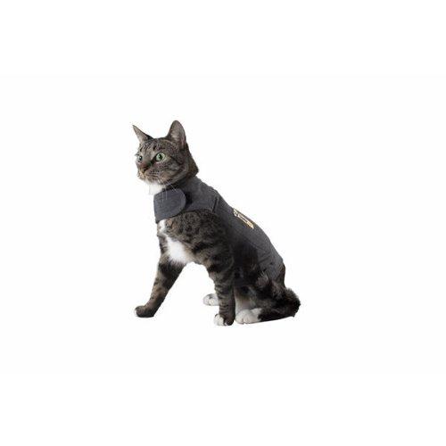 Thundershirt Grey Chest, Cat, 9-12 lbs, Medium (TH00159) -