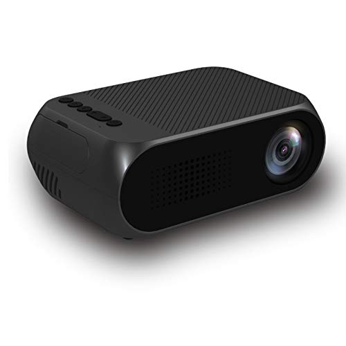 TIAN Mini Projector, Portable LED Projector Home Cinema Theater With PC...