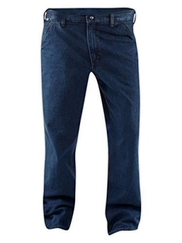 Denim Ounce 11.75 Cotton - Carhartt FRB13-DNM-36X32 Flame-Resistant Denim Dungaree Pant, 36x32, Denim