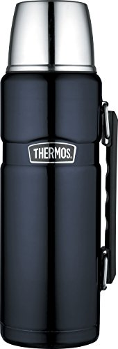 Thermos Stainless King Flask, Midnight Blue, 1.2 L