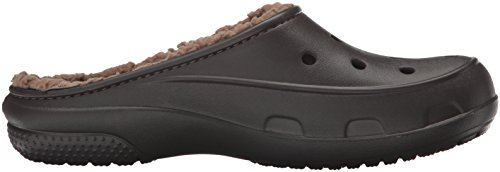 Zoccoli Donna Crocs Marrone Plushlined Freesail Clog Espresso twOOTUq