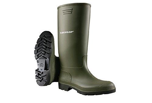 Dunlop Pricemastor Herren PVC-Gummistiefel / Stiefel (42 EUR) (Grün)