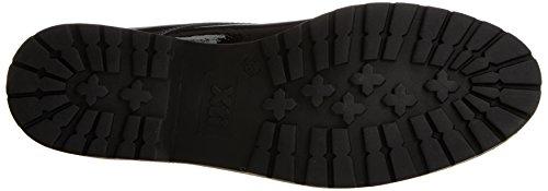 Mujer Zapatos de Oxford Black para XTI Negro Cordones 047512 EYq1wn5H