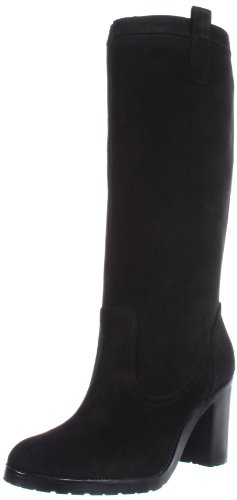 Lauren Ralph Lauren Women's Devona Boot,Black,9 M US