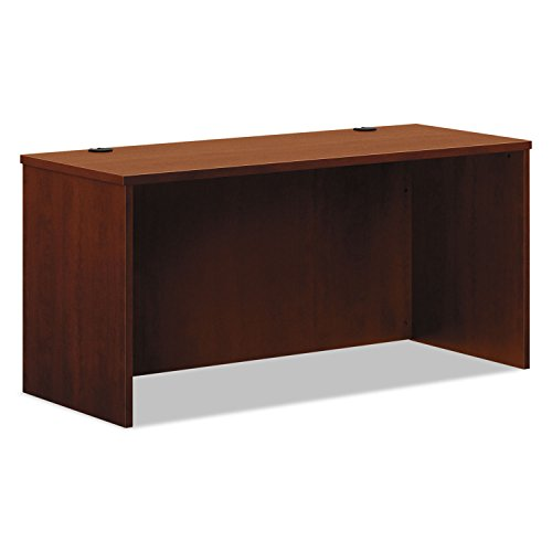 HON BL Laminate Series Credenza Shell - Desk Shell for Office, 60w x 24d x 29h, Medium Cherry (HBL2123) Series Medium Cherry