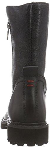 Wrangler Arizona Zip - botas de piel mujer negro - Schwarz (62 Black)